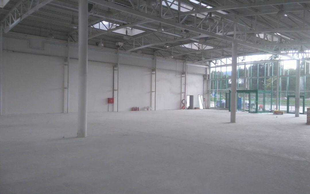 Přestavba objektu Baumax Liberec