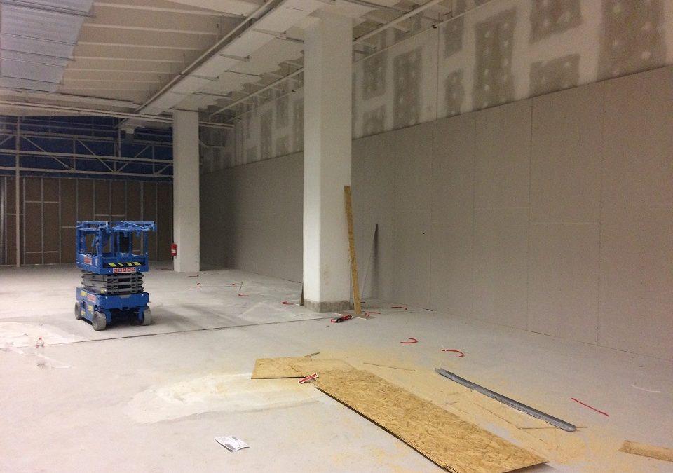 Převzetí staveniště H&M Praha Eden